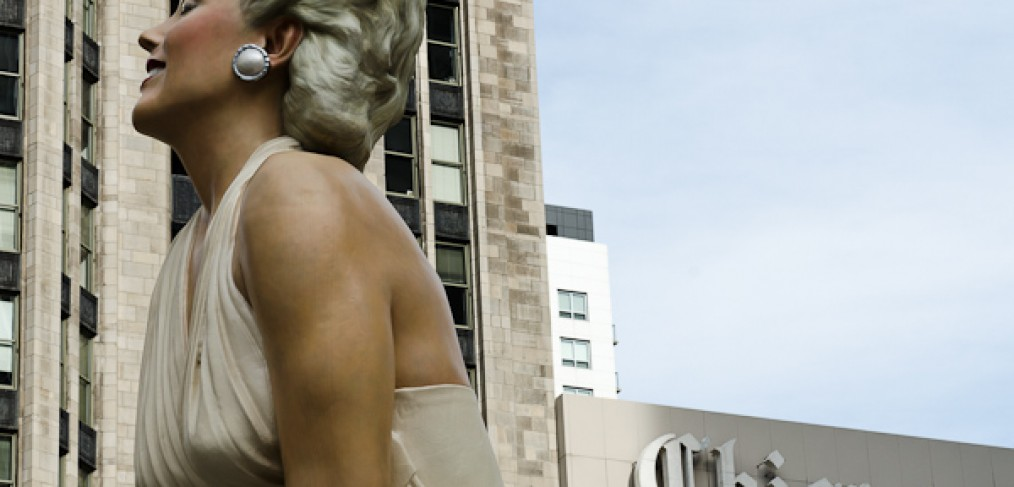 marilyn monroe statue chicago