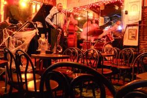 Jazz club on Bourbon Street