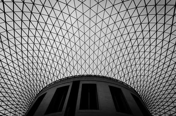 British museum ceiling