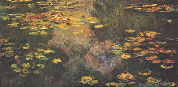 Claude Monet Waterlillies