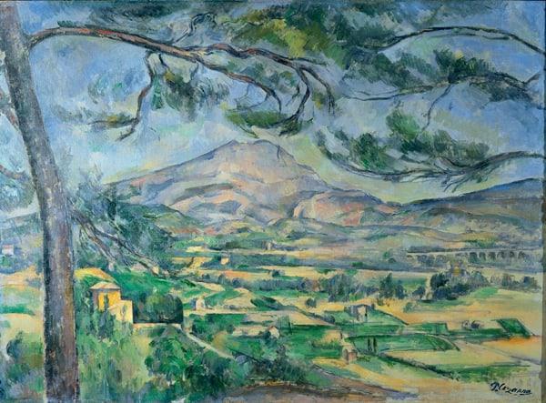 Paul Cezanne Landscape