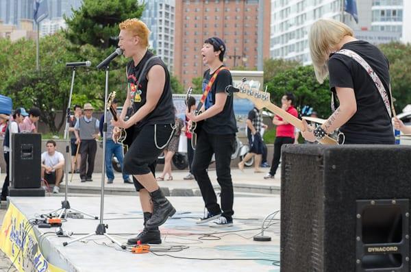 Korean punk rockers