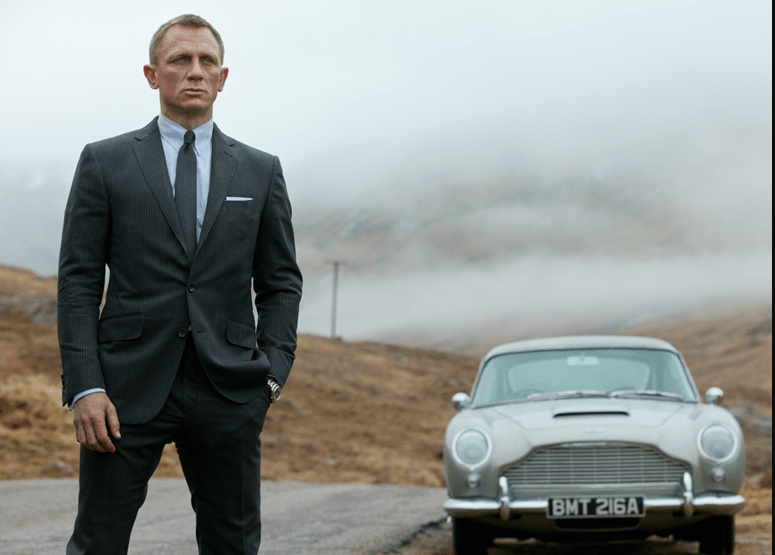 James Bond Scotland