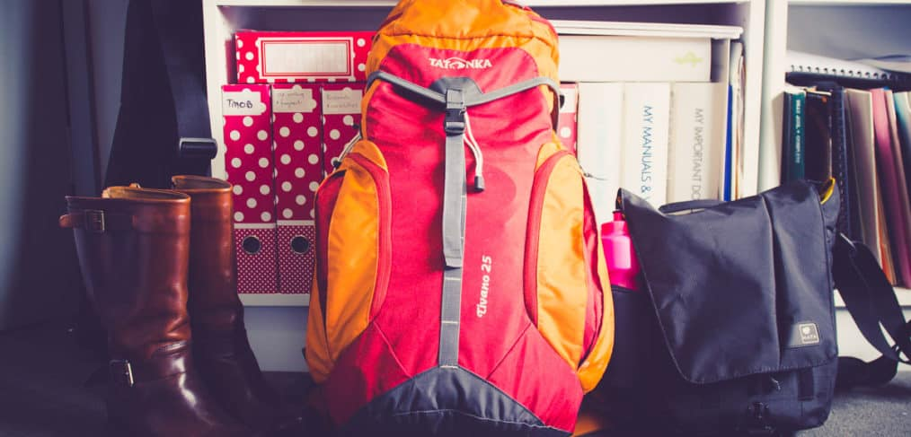 Light travel backpack and camera bag