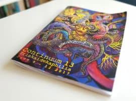 Continuum 13 Convention Program book