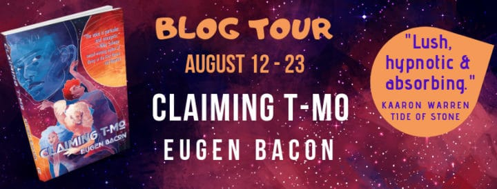 Claiming T-Mo blog tour promotional image