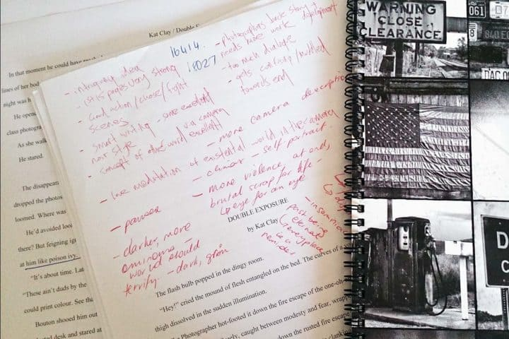 Beta reader feedback on a book manuscript