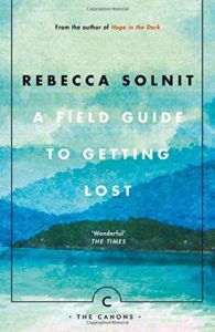 A field guide to getting lost book cover