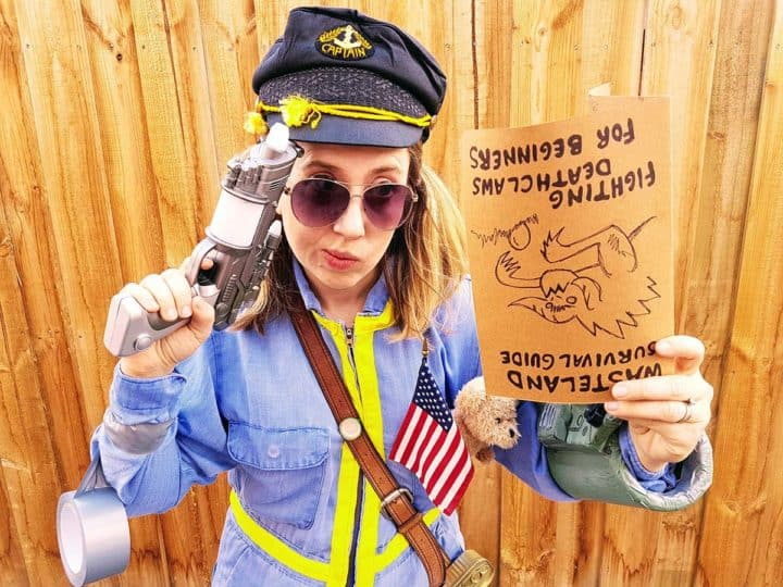 Fallout wastelander cosplay