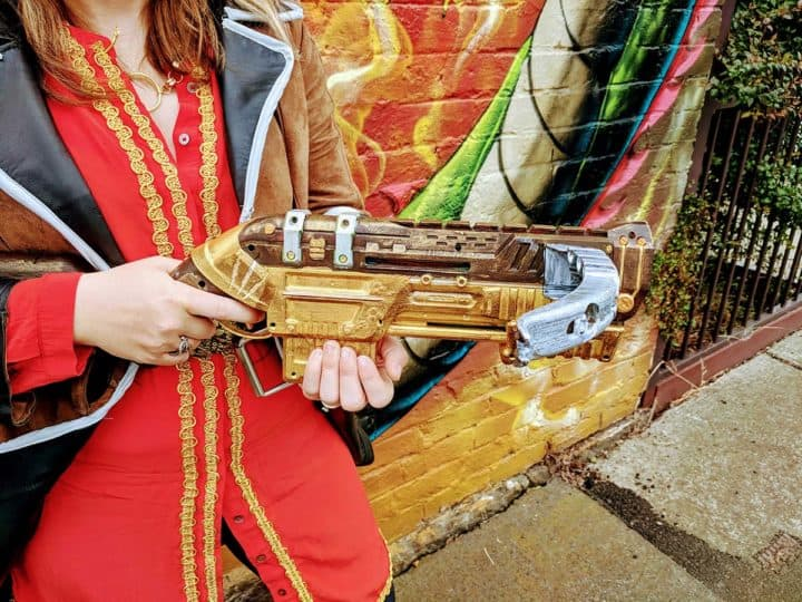 Hand painted crossbow based on Dragon Age